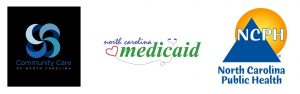 Logos for CCNC, NC Medicaid and NC Public Health