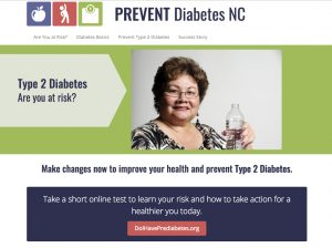 Prevent Diabetes NC screen shot