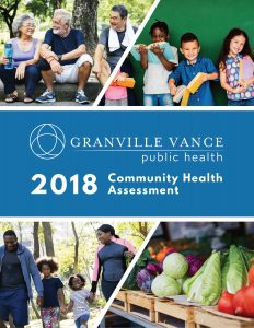 Granville Vance Public Health 2018 Community Health Assessment cover